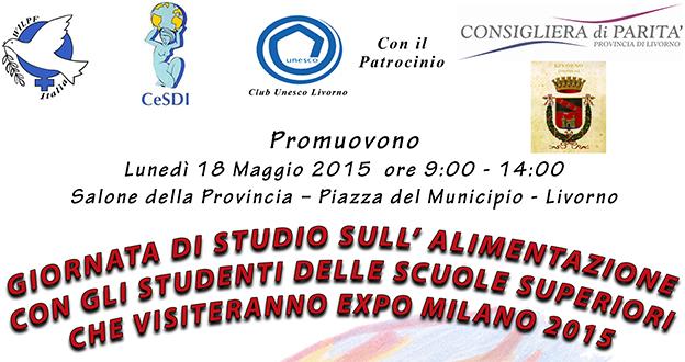 giornata studio alimentazione expo2015