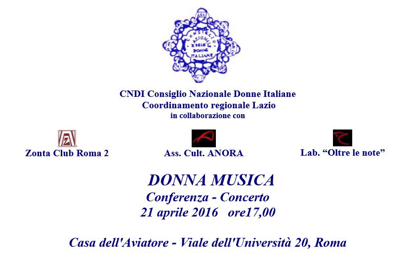 Donna Musica Conferenza/Concerto