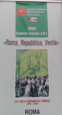 Associazione Mazziniana Italiana: XXVIII Congresso Nazionale