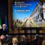 8 Marzo 2019 Al Quirinale con la Presidente CNDI Daniela Monaco